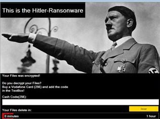 Новая угроза: «Гитлер» удаляет ваши файлы, новости, подробное описание, отзывы, фото, видео